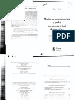 Curran James - Medios de Comunicacion y Poder en Una Sociedad Democratica