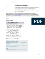 Gerando um arquivo XML a partir de uma consulta ao MySQL