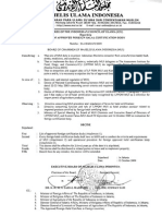 Halal Certifier Body Approuved by MUI 26 May 2011