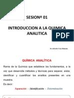 Clase 1. Introducción a La Quimica Analitica