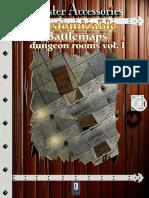 (Map Tiles) Master Accessories-Customizable Battlemaps-Dungeon Rooms Volume 1