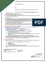 Checkout Procedures (Semester 1 AY2013-2014)