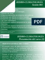 01-Introduccion-Hidroclimatología