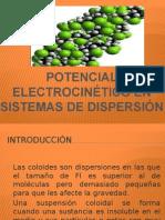 Potencial Electrocinético en Sistemas de Dispersión
