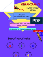 Huruf Vokal