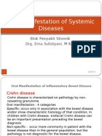 Oral Manifestation of Systemic Diseases.pptx