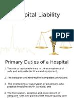 Hospital Liability (Report)