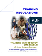 TR Trainers Methodology Level II (1)