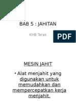 Bab 5- Jahitan