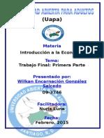 Producto Interno Bruto - Trabajo Final Wilkan 2015