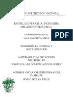 Protocolo de comunicación FPIO