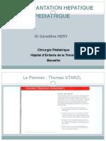 Transplantation Hépatique - Héry - 18-03-2014