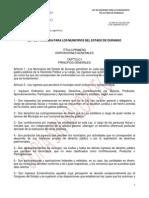 Ley de Hacienda Para Los Municipios Del Estado de Durango