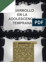 desarrollo en la adolescencia