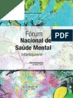 Forum Nacional Saude Mental Infantojuvenil
