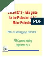 IEEE PSRC -Sept 2013 Presentation-C37.96-2012