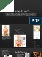 cuadro clinico de intoxicacion por cianuro