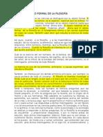 Tema 7 El Objeto Formal de La Filosofía