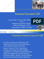 trauma-focused cognitive behavioral therapy - judith cohen