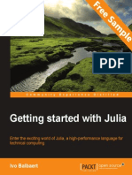 Getting Started with Julia - Sample Chapter