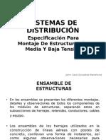 Estructuras para lineas de transmisión