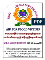 AID FOR FLOOD VICTIMS IN MALAYSIA BY ARC-MALAYSIA