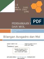 Persamaan Reaksi dan Mol.pptx