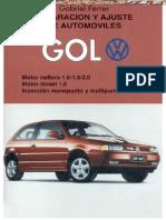 Manual Reparacion Ajuste Volkswagen Gol Modelos Varios