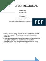 Anestesi Regional Presentasi