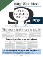 The Daily Tar Heel for Feb. 26, 2015