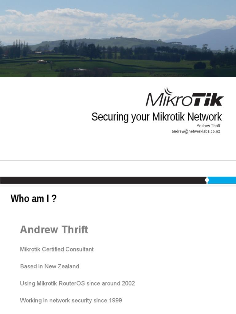 Ids Ips Mikrotik | Router (Computing) | Ip Address