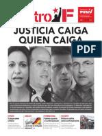 Cuatro F No 13. Periódico del Partido Socialista Unido de Venezuela