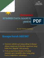 Konsep Dasar Manajemen SDM