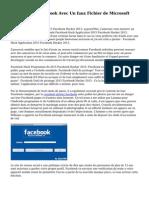 Piratage sur Facebook Avec Un faux Fichier de Microsoft Word