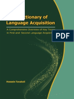 A Dictionary of Language Acquisition_A Comprehensive Overview of Key Terms in First and Second Language Acquisition