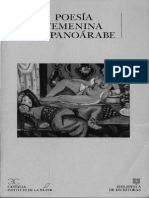 Selección Poesía Femenina Hispanoárabe