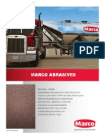Marco Abrasives Brochure