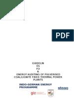 Energy Audit Manual Cande 2013