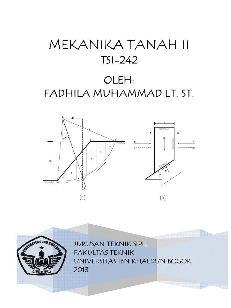 Mekanika tanah ii ccuart Image collections