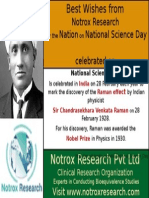 Notrox Research Wishes For National Science Day