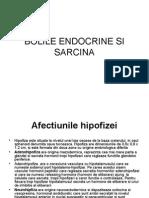 Sarcina Si Bolile Endocrine