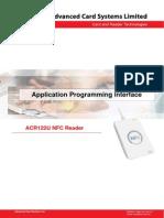 Acr122u Nfc Reader API