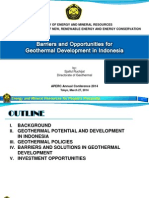 Distribution of Geothermal Resources Indonesia
