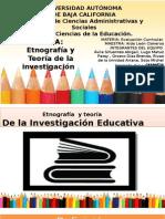 Etnografia y La Investigacion
