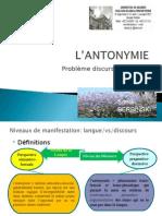 Antonymie