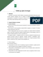Schita Pe Plan Strategic