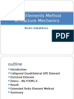 Finite Element Methods in Fracture Mechanics