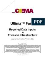 1.Required Data Inputs for Ericsson Markets