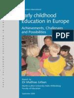 2009 EarlyChildhoodEducationInEurope En