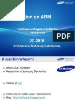 DEFCON 18 Avraham Modern ARM Exploitation
